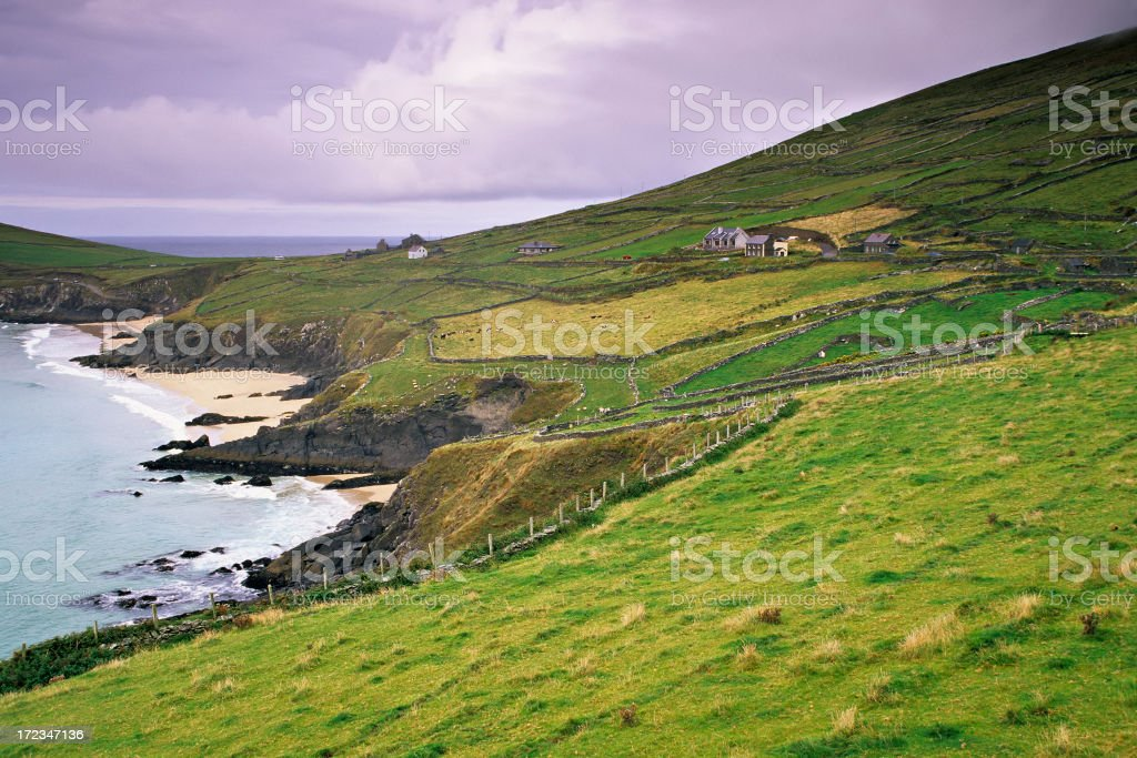 Dunmore Head royalty-free stock photo