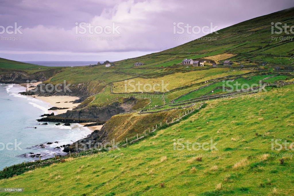 Dunmore Head stock photo