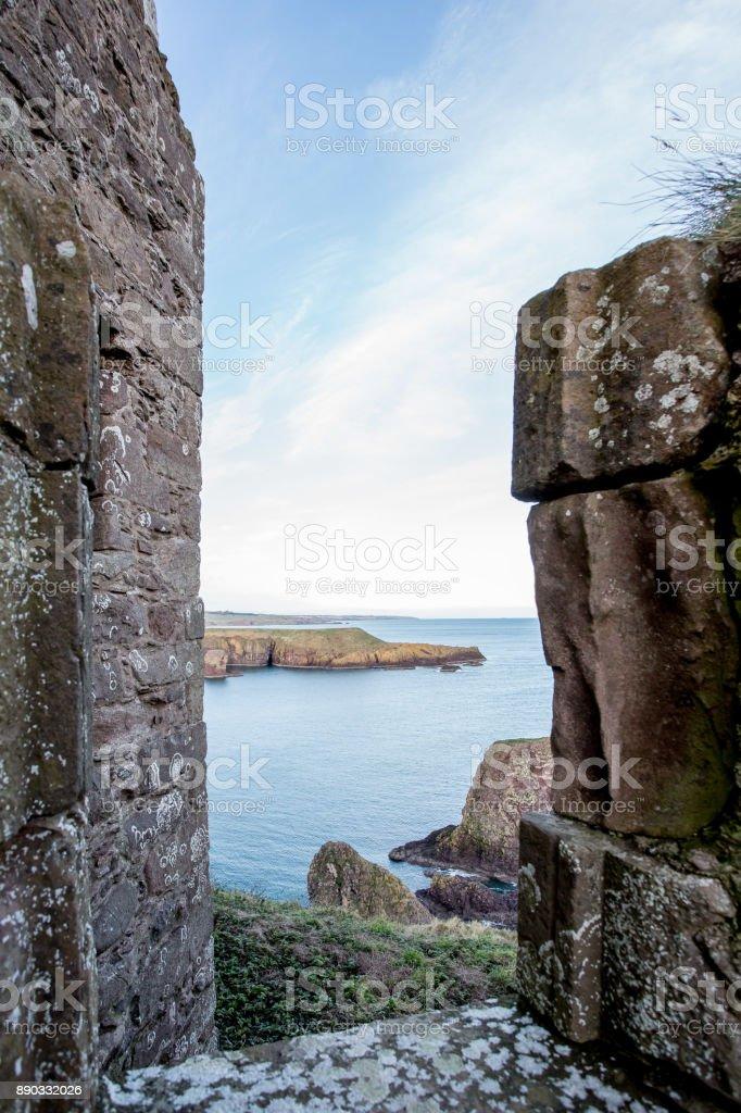 Dunnotar kasteel - Aberdeenshire foto