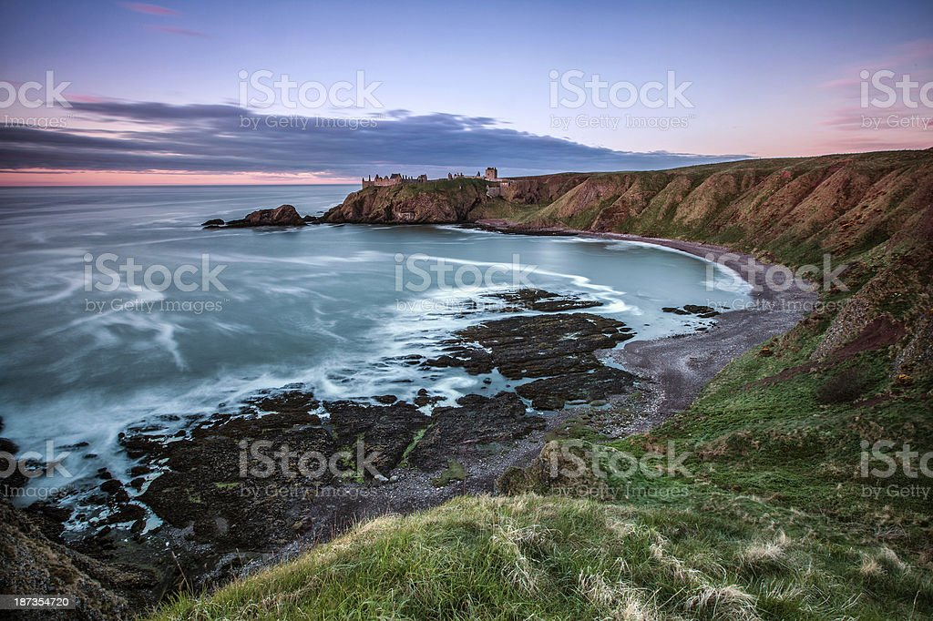 Dunnotar Castle royalty-free stock photo