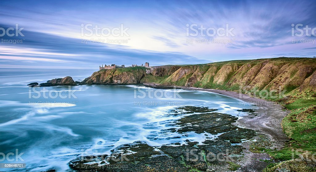 Dunnotar Castle stock photo