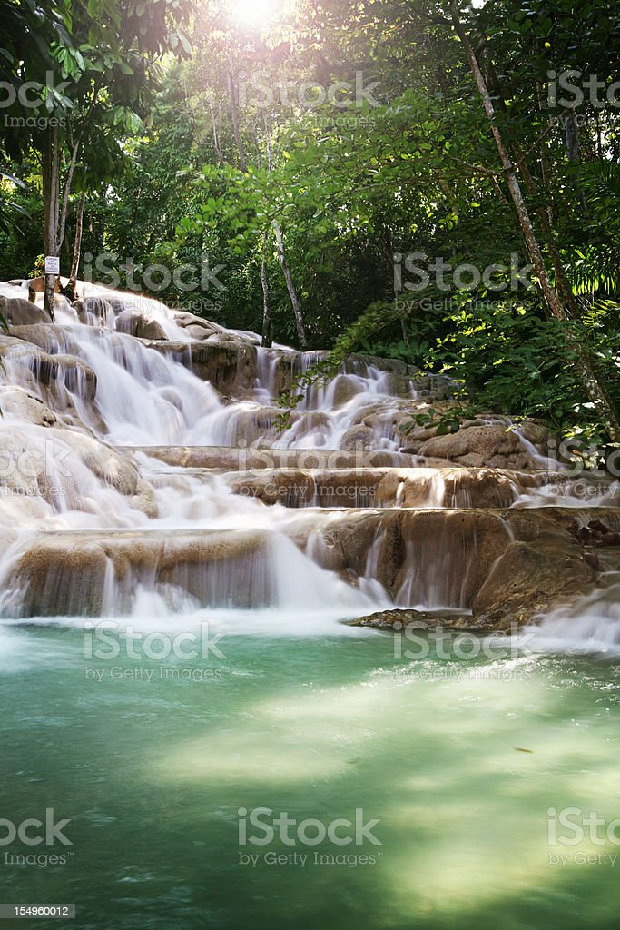Dunns River Falls stock photo