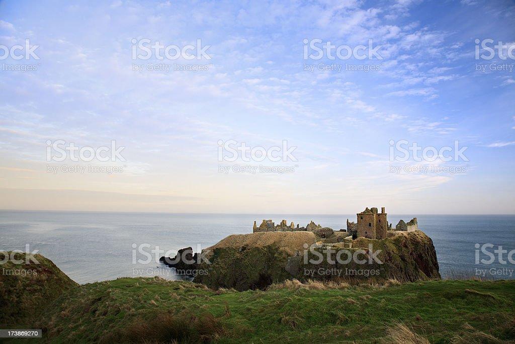 Dunottar Castle, Stonehaven, Scotland stock photo