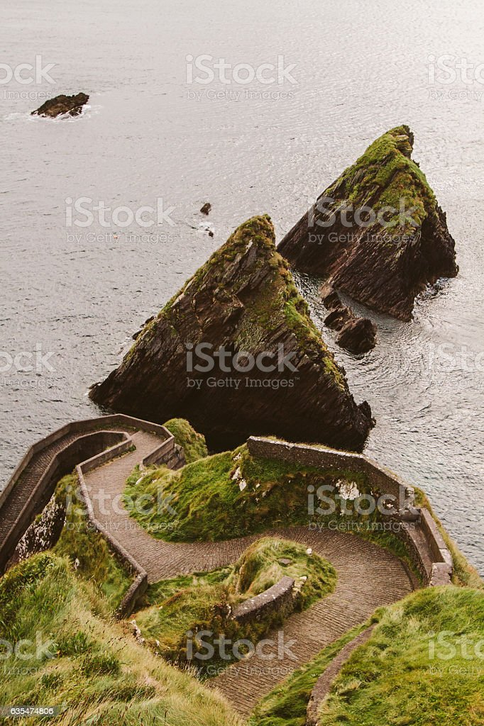 Dunquin Pier stock photo