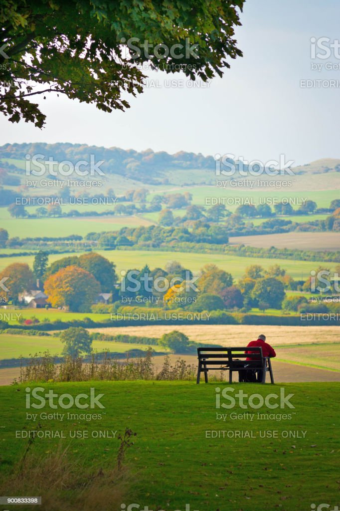 Dunstable Downs stock photo
