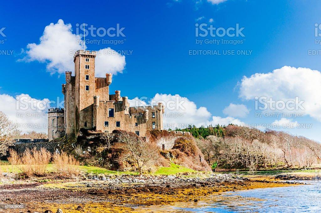 Dunvegan Castle, Isle of Skye, Scotland. stock photo