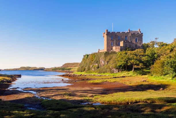 Dunvegan Castle. Isle of Skye, Scotland / UK stock photo