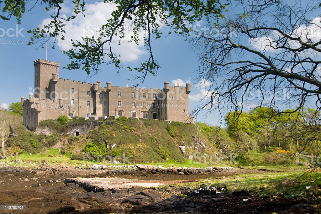 Dunvegan Castle stock photo
