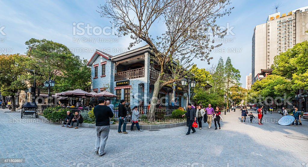 Duolun Road Hongkou District shanghai china royalty-free stock photo
