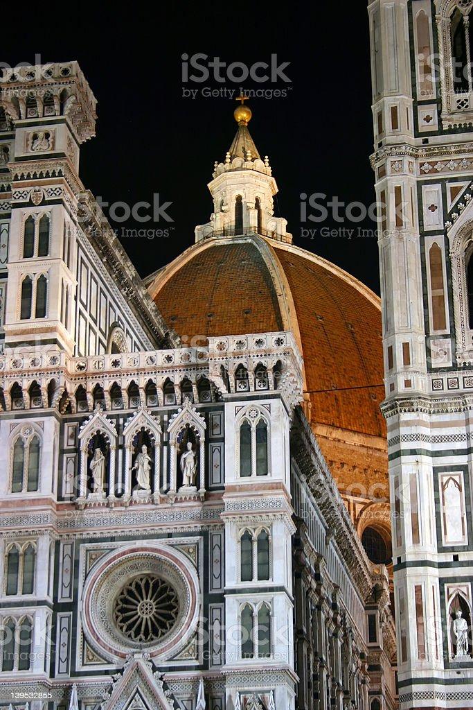 Duomo by Night royalty-free stock photo