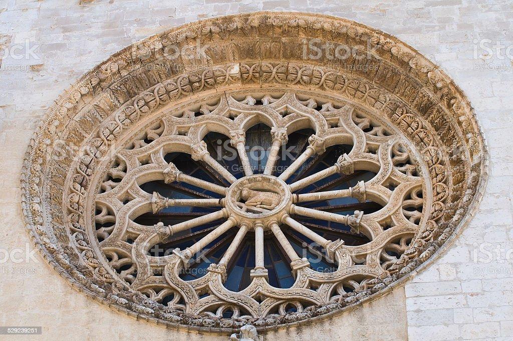 Duomo Cathedral of Altamura. Puglia. Italy. stock photo