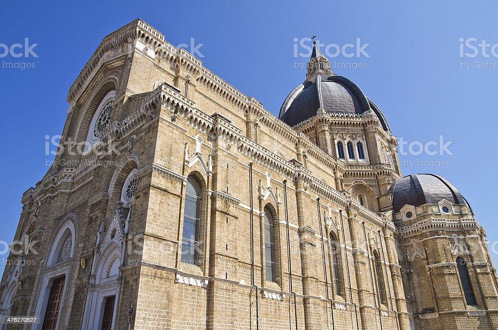 Duomo Cathedral of Cerignola. Puglia. Italy. royalty-free stock photo