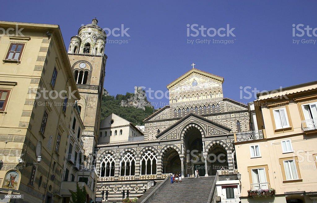 두오모 de 아말피, 이탈리아 royalty-free 스톡 사진