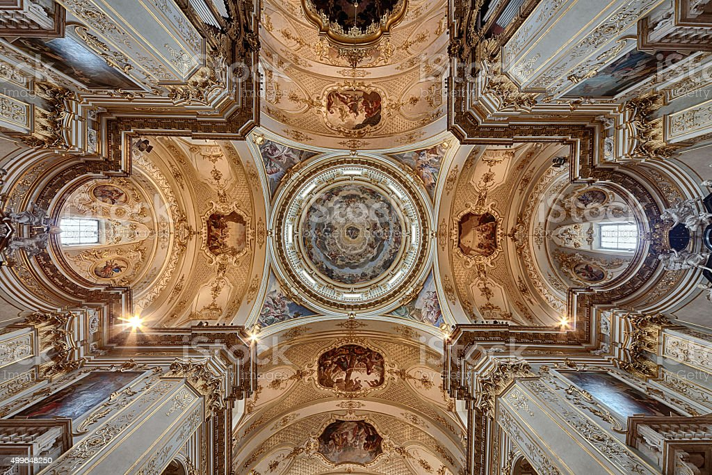 Duomo di Bergamo stock photo