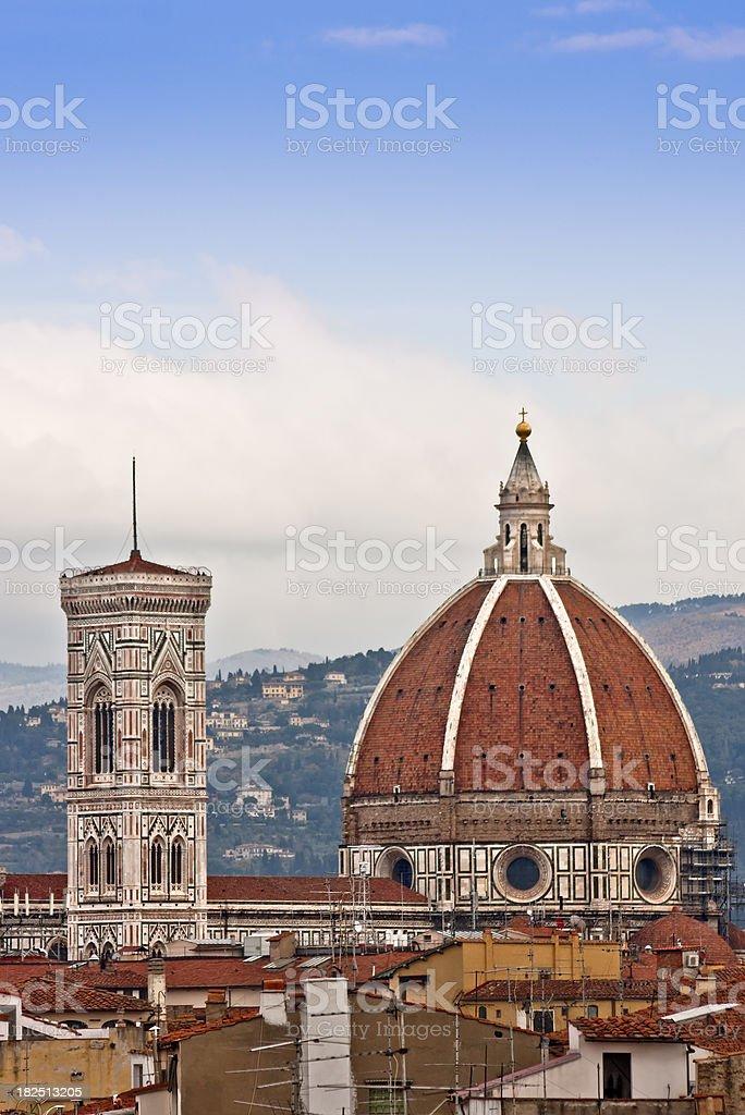 duomo di firenze with campanile italian renaissance architecture