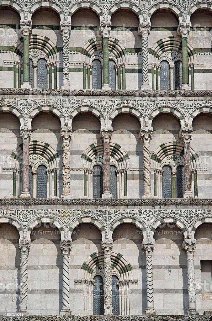Duomo di Lucca royalty-free stock photo