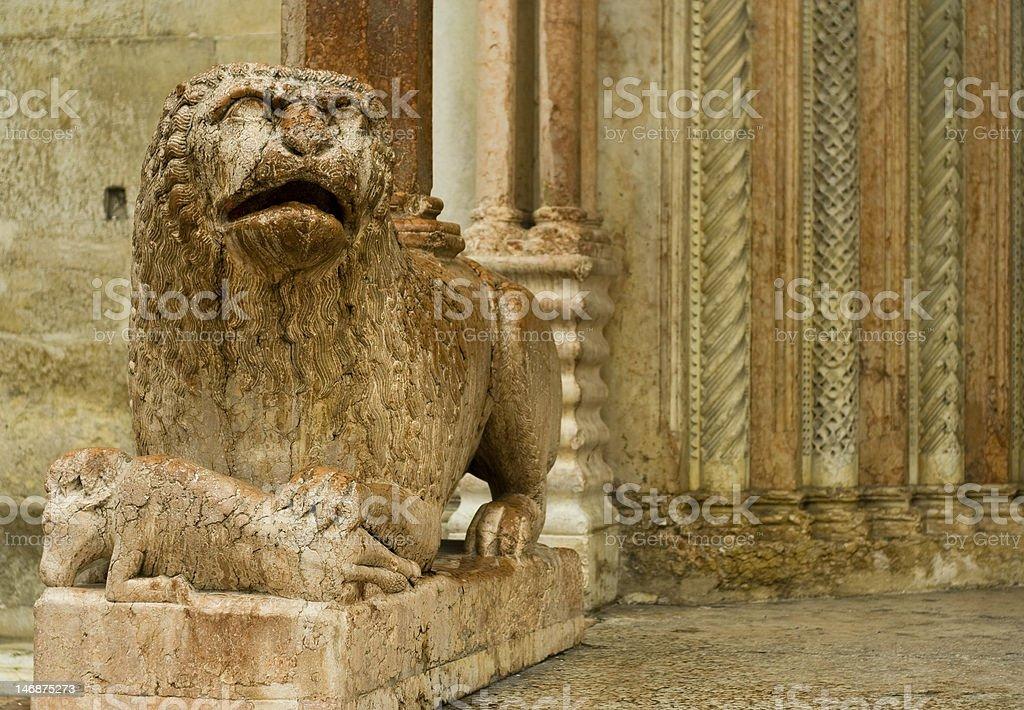 Duomo di Modena royalty-free stock photo