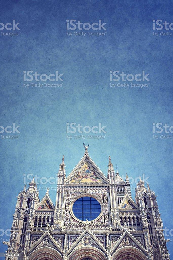 Duomo Di Siena royalty-free stock photo