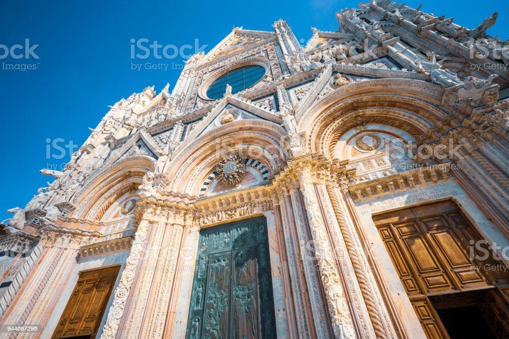 Duomo di Siena (Siena Cathedral) stock photo