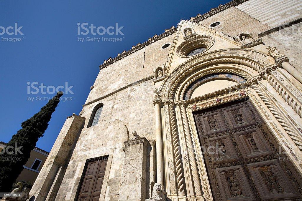 Duomo di Teramo royalty-free stock photo