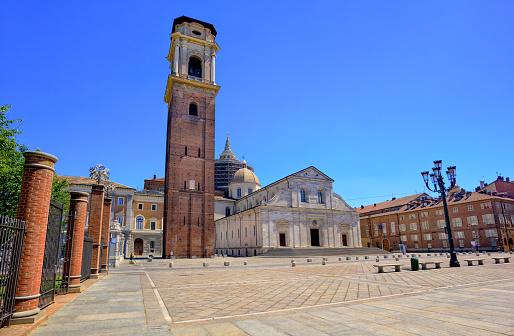 Duomo di Torino is catholic cathedral in Turin, Italy