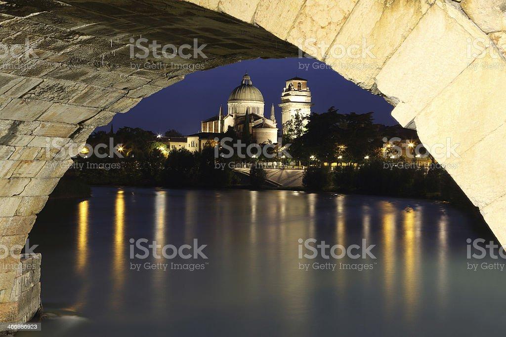 Duomo di Verona   - Verona's cathedral, Italy royalty-free stock photo