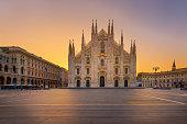 Duomo gothic cathedral Milan