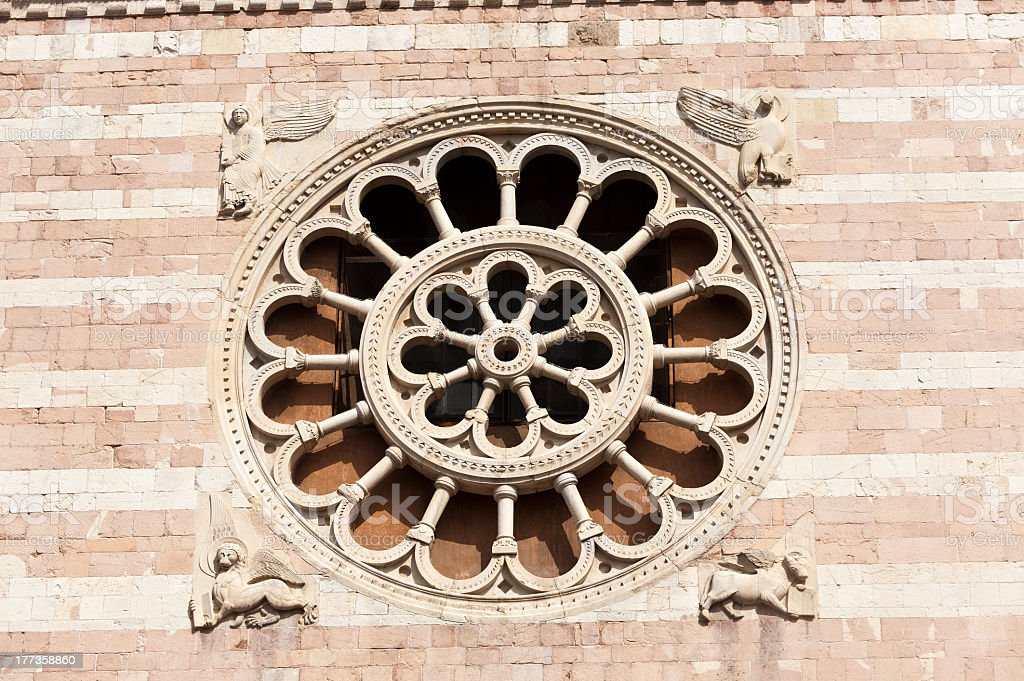 Duomo of Foligno royalty-free stock photo