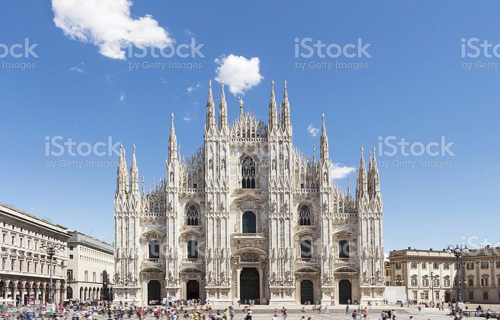 Dôme de Milan, Italie.   Piazza del Duomo. - Photo