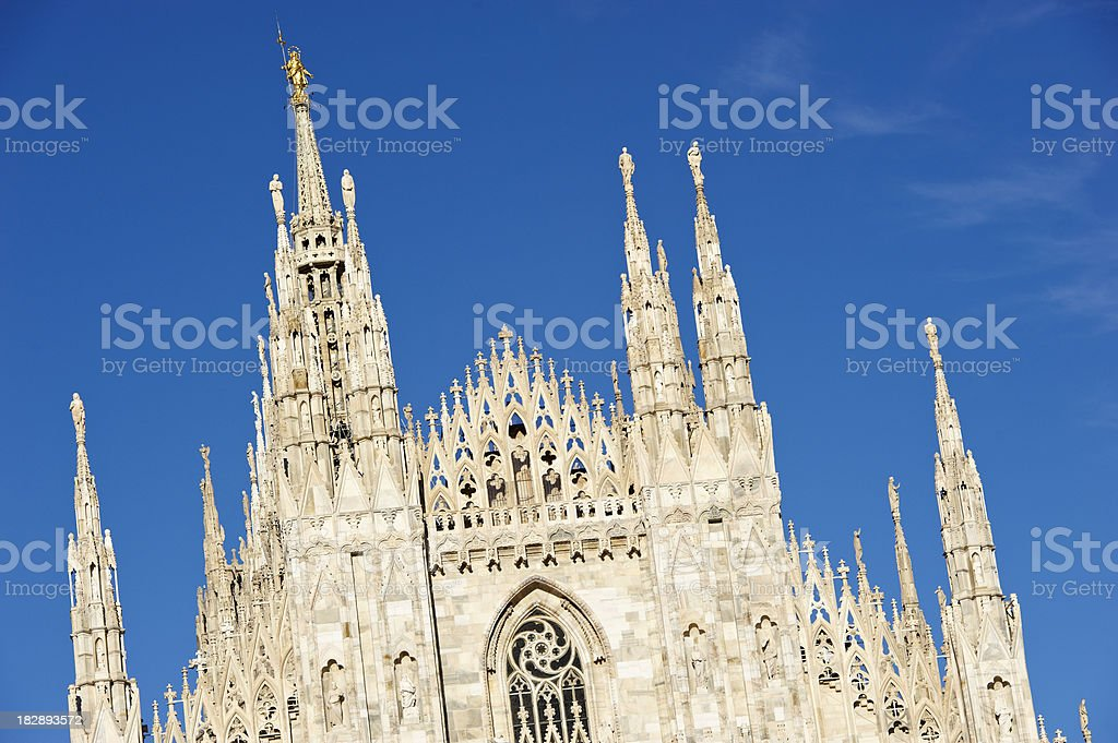 Duomo of Milan royalty-free stock photo