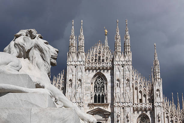 Duomo of Milan stock photo
