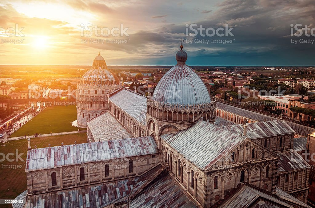 Duomo of Pisa stock photo