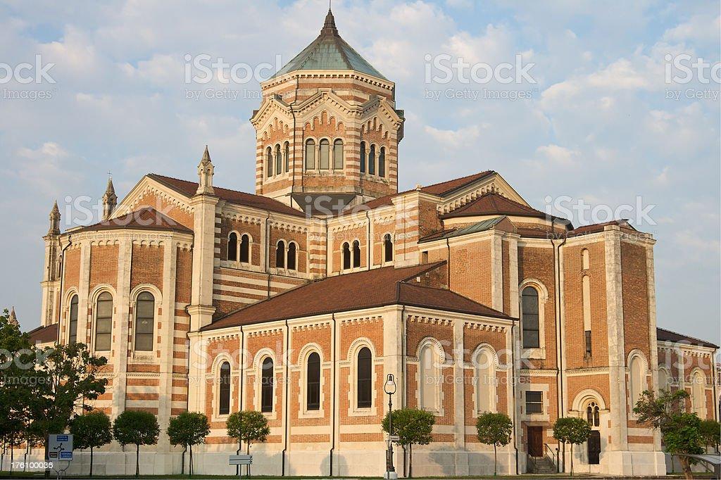 Duomo Santa Maria Del Fiore, Lonigo, Vicenza, Italy stock photo