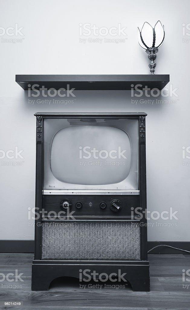 Duotone TV royalty-free stock photo