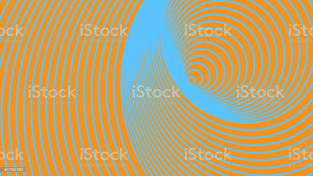 Duplicated Circles Background and Wallpaper. Frequent Repeating Rings. stock photo