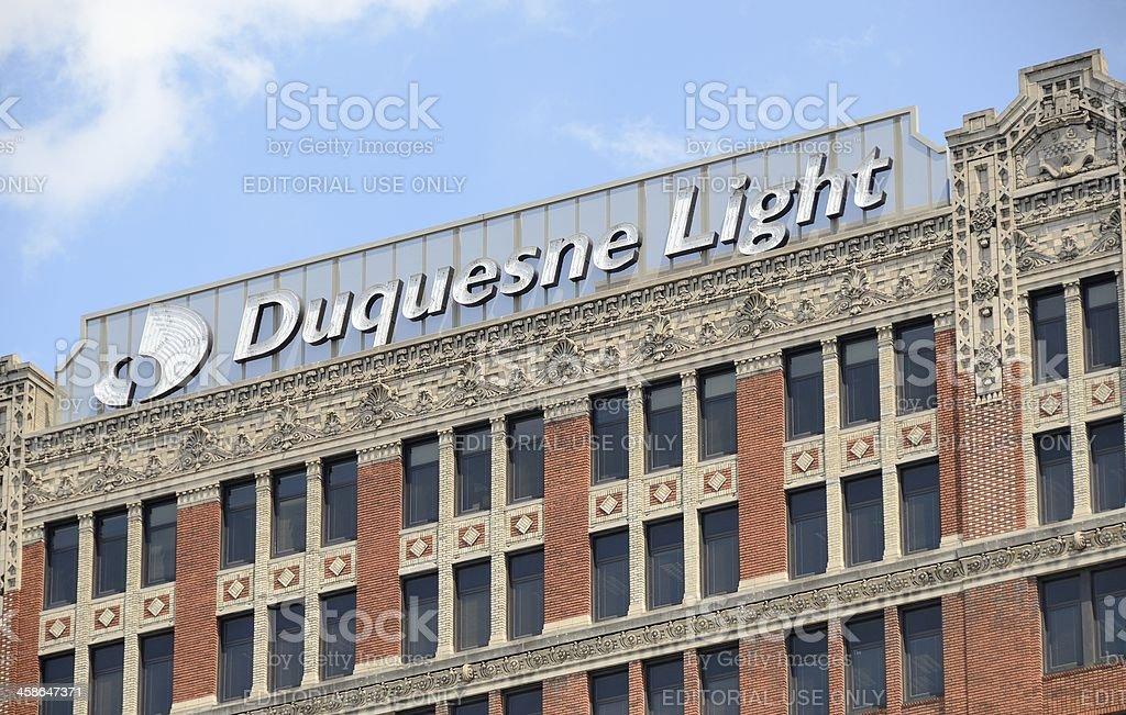 Duquesne Light Company Royalty Free Stock Photo