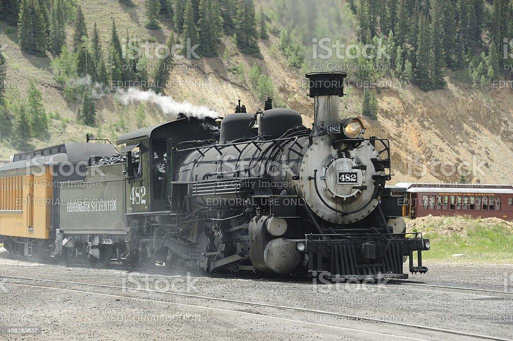Durango and Silverton Narrow Gauge Railroad royalty-free stock photo