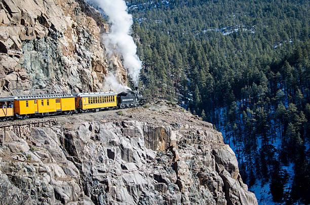 Durango and Silverton Narrow Gauge Railroad stock photo
