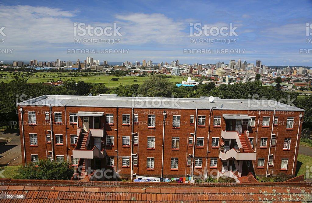 Durban Cityscape stock photo