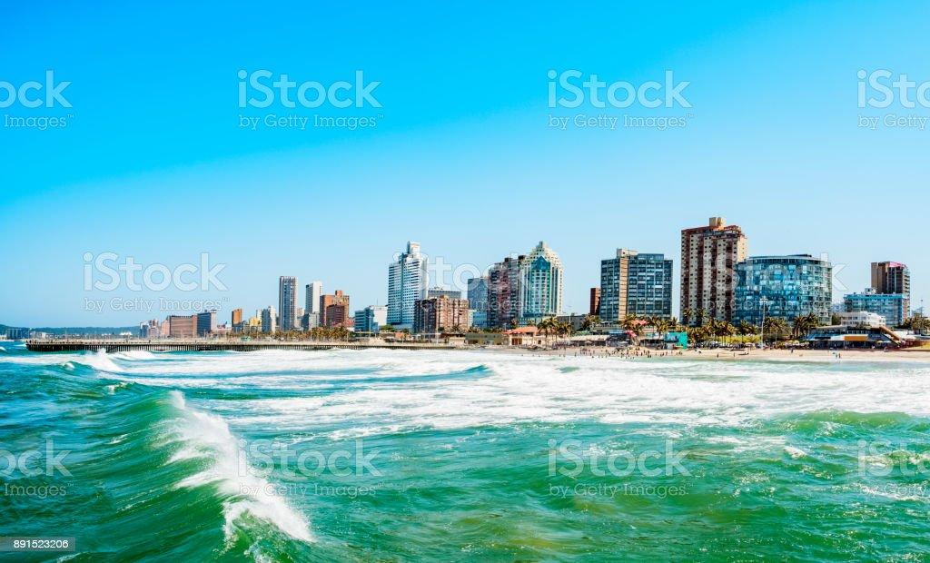 Durban-Skyline-Ufer – Foto