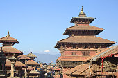Patan - ancient city in Kathmandu valley. Nepal