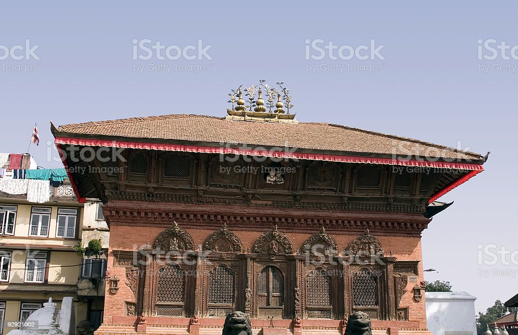 Durbar Square - Kathmandu, Nepal royalty-free stock photo
