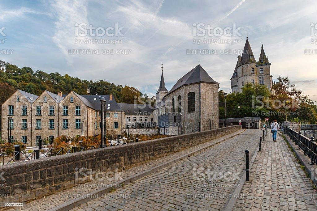 Durbuy, Belgium stock photo
