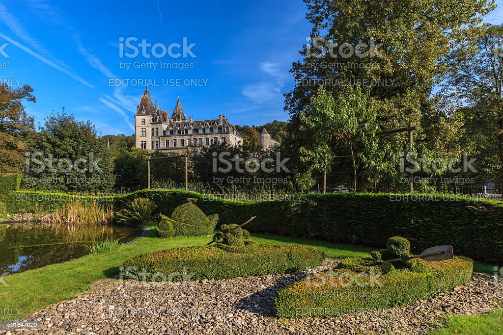 Durbuy, Topiary Park - Belgium stock photo