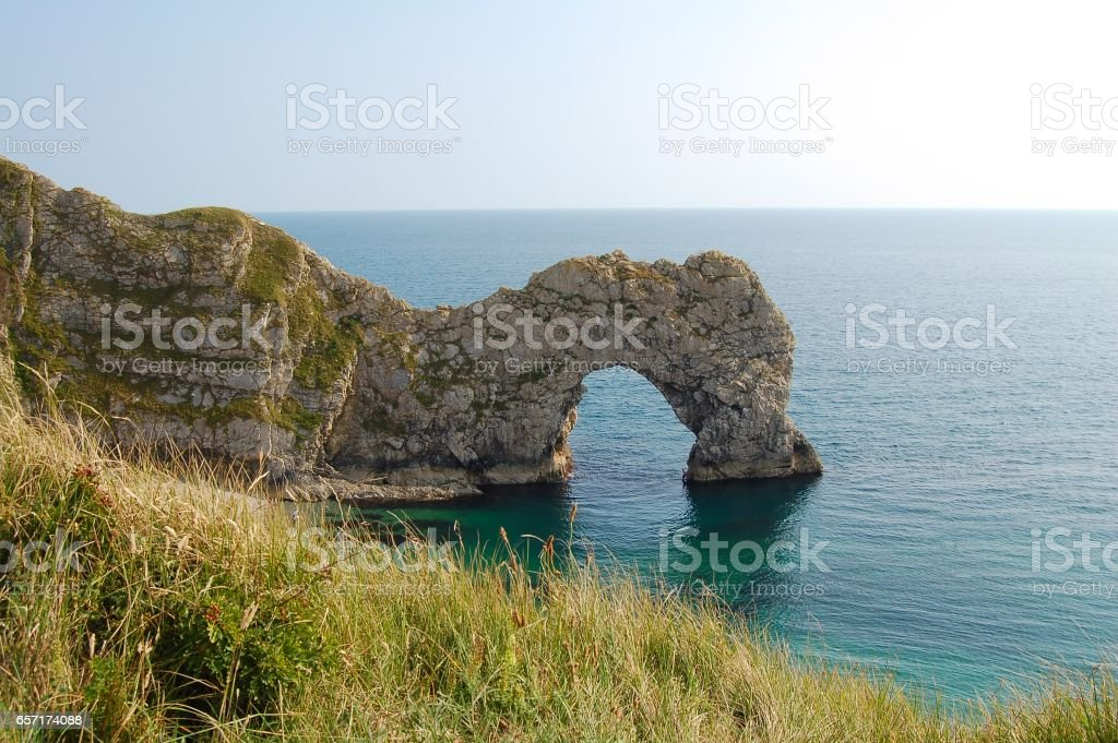 Durdle Door Arch on the coast of South England royalty-free stock photo & Durdle Door Arch On The Coast Of South England Stock Photo u0026 More ...