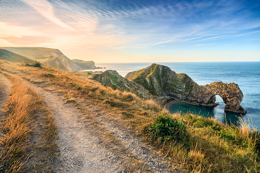 Durdle Door, Dorset beach