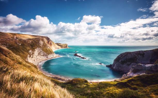 Durdle Door, Dorset beach stock photo
