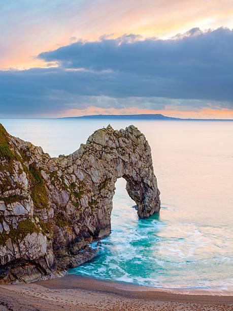 Durdle Door Dorset England stock photo