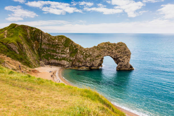Durdle Door, travel attraction on South England, Dorset stock photo