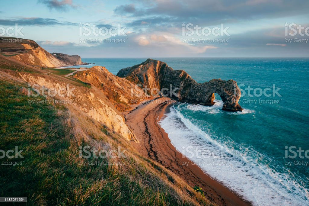Durdle Door UK - Royalty-free Beach Stock Photo